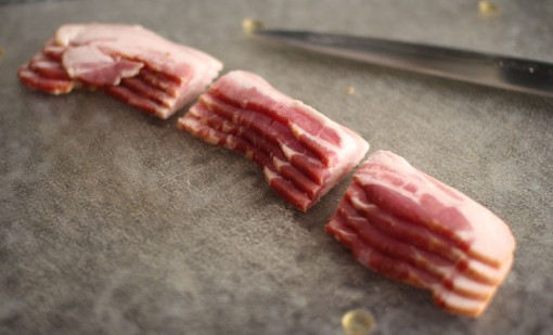 cut  bacon