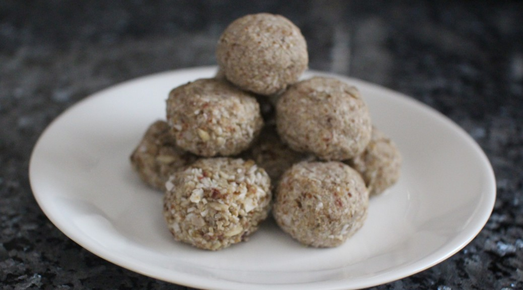 Power Snack Balls Ready to Eat