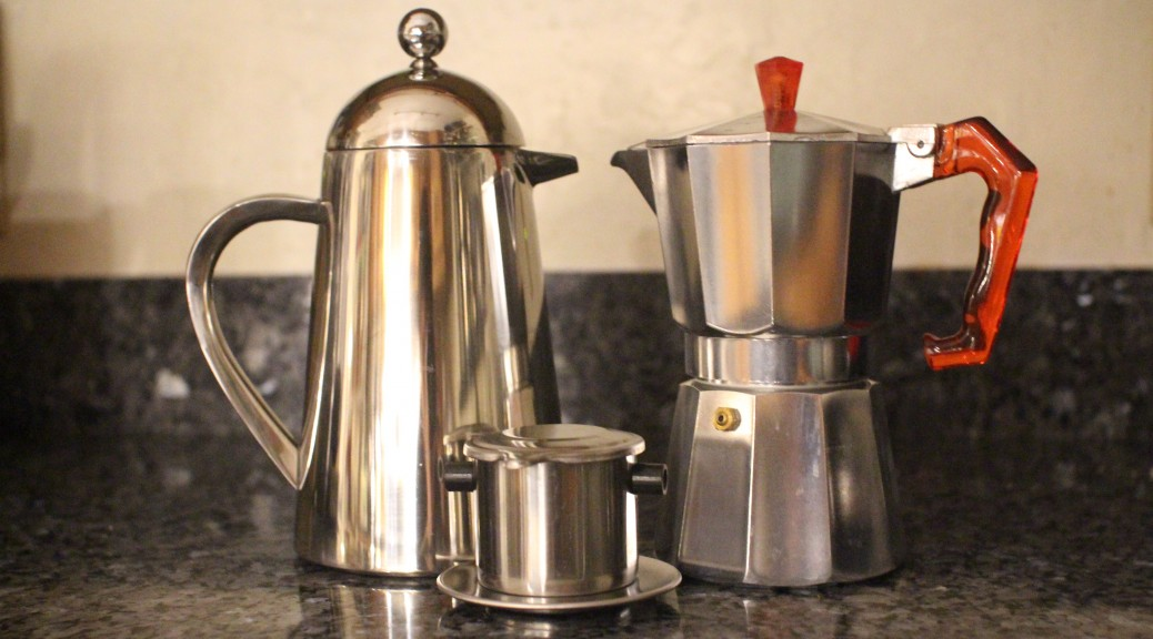Battles of the coffee makers